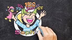 sophia kinderziekenhuis 150 jaar viering