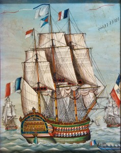 schip 19e eeuw