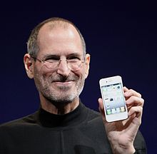 Spreekbeurt over Steve Jobs, de maker van de iPhone en iPad